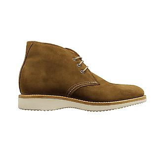 Loake Python Tan Suede Leather Mens Chukka Boots