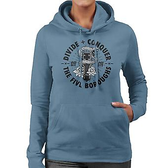 Divide & Conquer NY Guitar Snake Women's Hooded Sweatshirt