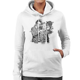 TV keer Comedy Duo Eric Morecambe And Ernie Wise 1981 Women's Hooded Sweatshirt
