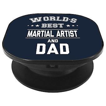 Melhor artista marcial do mundo e aperto de telefone do pai