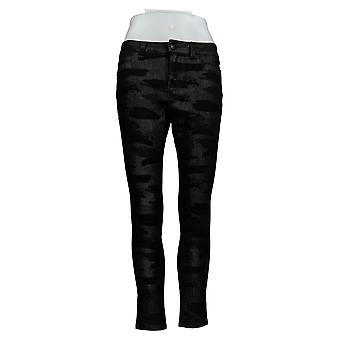 G.I.L.I. got it love it Women's Petite Jeans Stretch Jeggings Black A304420