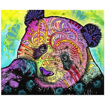 Stamplistic Psychedelic Panda Cling Stamp