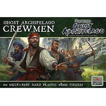 Ghost Archipelago Crewmen - 20 Multipart Plastic 28mm Figures