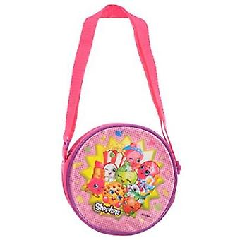 Hand Bag - Shopkins - Cute Snacks Purse Bag New 407388