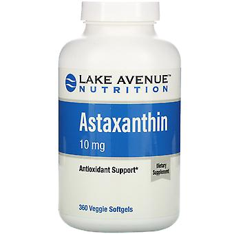 Lake Avenue Nutrition, Astaxanthin, 10 mg, 360 Veggie Softgels