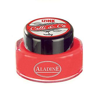 Aladine Calli & Co Blekk Ruby 15 ml