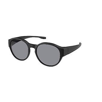 Sunglasses Unisex transfer black with grey lens VZ0039A