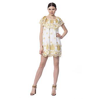 Silvian Heach White Dress SI992466-XS