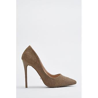 Glittery Court High Heels