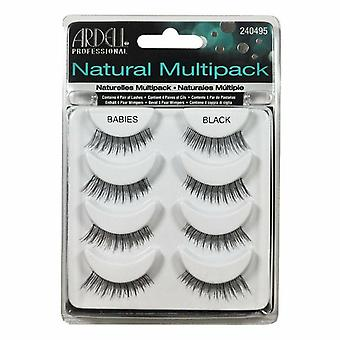 Ardell Natural Reutilizabile Lashes Multipack - Babies Black Genes - 4 Perechi
