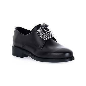 Frau silk black shoes