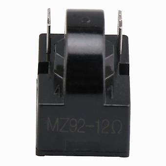Frigider Compresor PTC Releu Starter 12 Ohm 2 Pini Negru