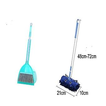 Cute Cartoon Mini Mop Broom Dustpan Set Cleaning Tool Toys