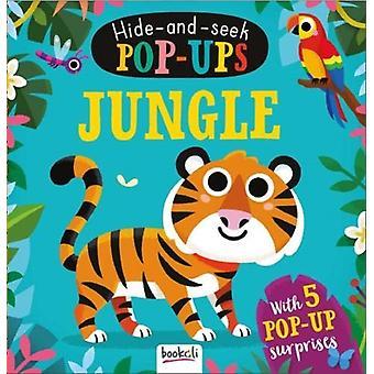 Jungle  HideandSeek PopUps by Created by Bookoli Ltd & Illustrated by Matthew Scott