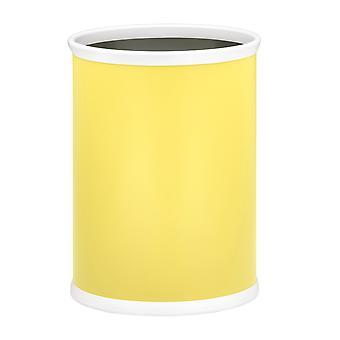 Citron 14 Pouces Panier à déchets ovales