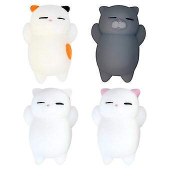 Cute Cat Squishy Stress Relief Toys Kawaii Squishy Animal Cat Toy