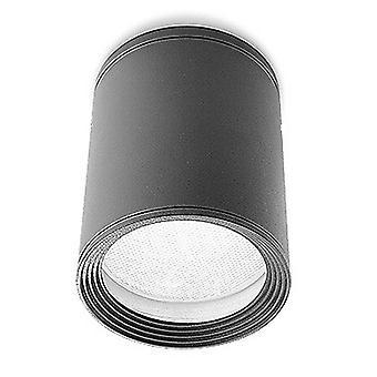1 Surface extérieure légère montée plafond clair gris urbain IP54, E27