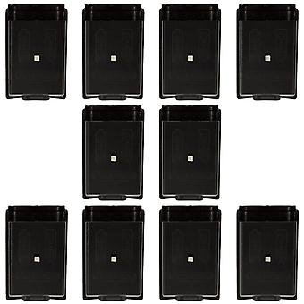 Battery cover for xbox 360 controller holder case - 10 pack black | zedlabz
