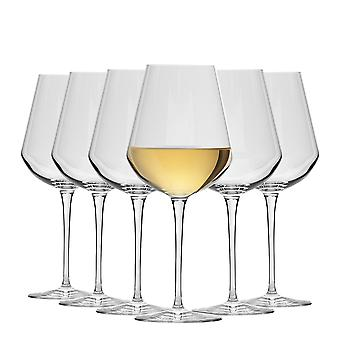 Bormioli Rocco Inalto Uno Small Wine Glasses Set - 380ml - Pack of 12