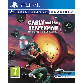 Carly and the Reaperman Escape From the Underworld PSVR Playstation VR PS4 Game