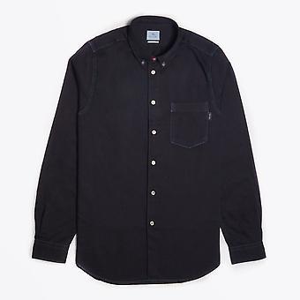 Paul Smith  - Contrast Stitch Shirt - Black