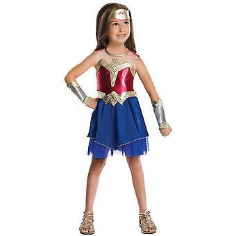 Wonder Woman DC Comics Batman V Superman Superhero Child Girls Costume