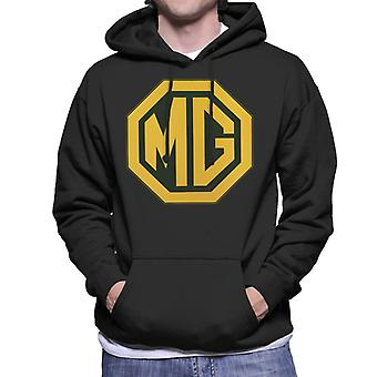 MG Gold Logo British Motor Heritage Men's Hooded Sweatshirt
