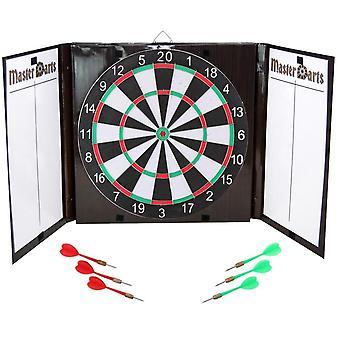 Gesloten kartonnen dart, diameter: 42 cm en 6 darts