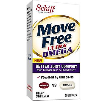 Schiff/Bio Foods Move Free Ultra Omega, 30 SoftGel