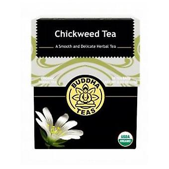 Buddha Teas Chickweed Tea, 18 Bags