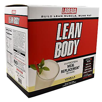 LABRADA NUTRITION Lean Body Powder, Vanilla 42 CT