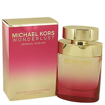 Wonderlust Sensual Essence Eau De Parfum Spray By Michael Kors 3.4 oz Eau De Parfum Spray