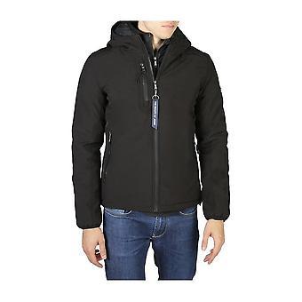 Yes Zee - Clothing - Jackets - 0241_J804_M400_0801 - Men - Schwartz - 3XL