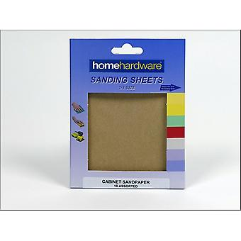 Home DIY (Paint Brushes) Cabinet Paper 115 x 140mm Assorted x 10 742510