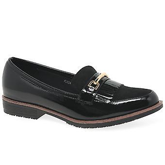 Lunar (GRS) Ancora Womens Fringe Loafers