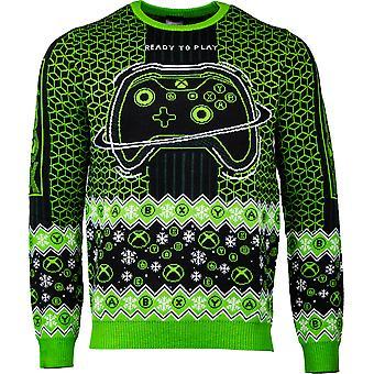 Offizielle Xbox 'Ready to Play' Christmas Jumper / Hässlicher Pullover