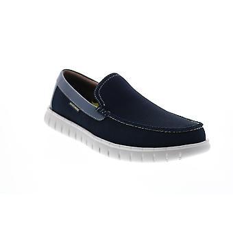 Chaussures décontractées Skechers Moreway Chapson Mens Blue Locassins & Slip Ons Casual Shoes