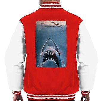 Jaws Classic Affisch Stalking Prey Men's Varsity Jacket