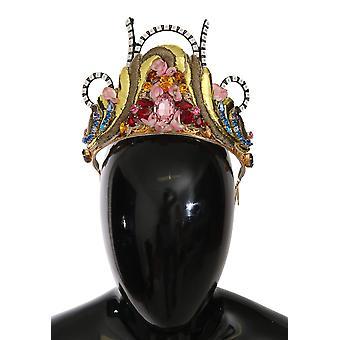 Diadem crystal led light runway catwalk crown headband