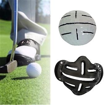 Golf Ball Alignment Identifikation Tool Putt Positionering Line Marker Uddannelse