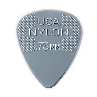 Jim dunlop 44p.73 nylon standard player pcs(12 pcs ) .73mm player pack 12 picks