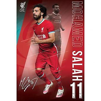Pôster de Liverpool Salah 1