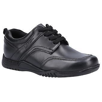 Hush щенки мальчики Харви Кожа школа обувь