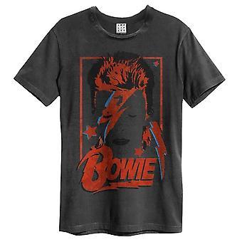 David Bowie Aladdin Sane AmplifiedT-Shirt