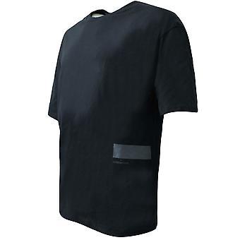 تحت درع السعي قصيرة الأكمام تي شيرت رجال الرسم الأسود الأعلى 1342994 001