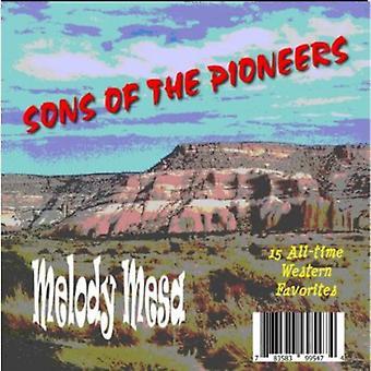 Zonen van de pioniers - Melody Mesa [CD] USA import
