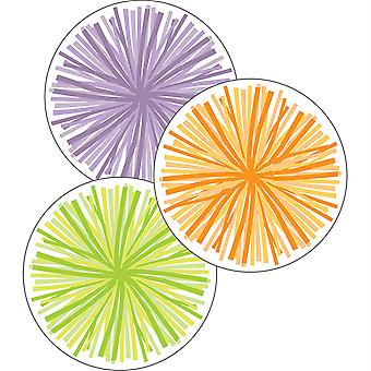 Hello Sunshine Poms Extra-Large Cut-Outs, Pack Of 12