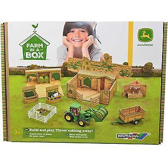 Britains Farm In A Box - Inc  John Deere 43257