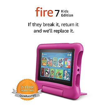 "Fire 7 Kinder Edition Tablet | 7"" Display, 16 gb, rosa kindersicheres Gehäuse"