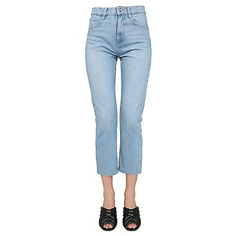 Iro Wp22hypnosisblu7821s Women's Light Blue Cotton Jeans